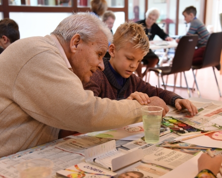 Intergenerationeel samenwerken