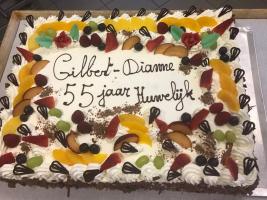 55 jarig Huwelijksjubileum Diane en Gilbert